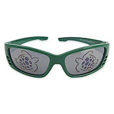 image of On The Verge Sport Turtle Sunglasses in Green