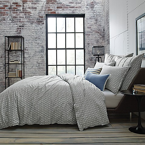 Kenneth Cole New York Escape Reversible Duvet Cover In