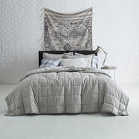 Jude Grid Quilt Set Bed Bath Beyond