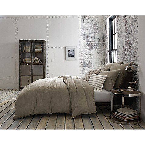 Kenneth Cole Mineral Yarn Dyed Duvet Cover Bed Bath Amp Beyond