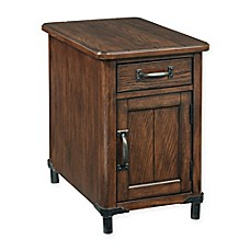 image of Broyhill Saluda Chairside Chest in Oak