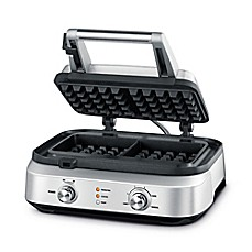 image of Breville® Smart Waffle™ 2-Slice Waffle Maker in Stainless Steel