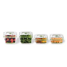 image of FoodSaver® Fresh 6-Piece Container Set in Clear