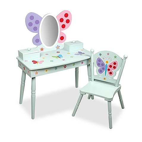 Genial Olive Kidsu0026trade; Butterfly Garden Vanity And Chair Set ...
