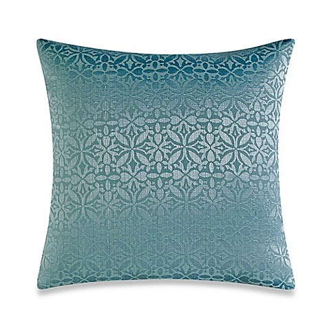 Make Your Own Decorative Pillow Covers : Buy Make-Your-Own Pillow Orchid Square Throw Pillow Cover in Spa from Bed Bath & Beyond