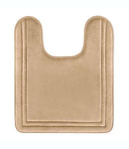 Tapete para baño de memory foam Smart Dry en herradura, 53.34x60.96cm en lino profundo
