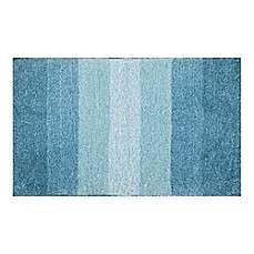 Image Of Adelaide Ombr Striped Bath Mat