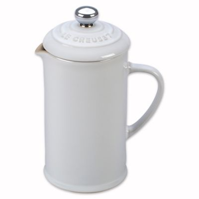 White French Press Coffee Maker : Buy Le Creuset 12 oz. Petite French Press Coffee Maker in White from Bed Bath & Beyond