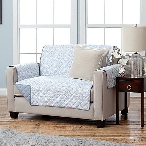 Adalyn Collection Reversible Loveseat Size Furniture Protectors Bed Bath Beyond