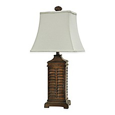 image of Coastal Shutter Table Lamp