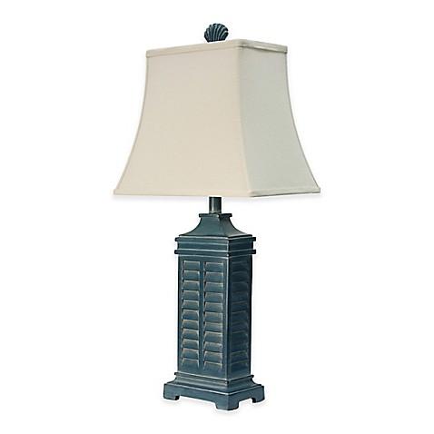 Coastal Shutter Table Lamp Bed Bath Amp Beyond