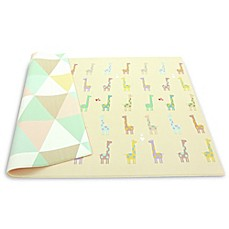 image of BABY CARE™ Reversible Giraffe in Love Playmat