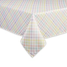 image of Spring Splendor Gingham Tablecloth in Multi