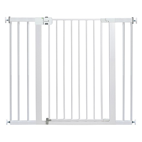Image Of Safety 1stR Easy Install Extra Tall And Wide Gate In White