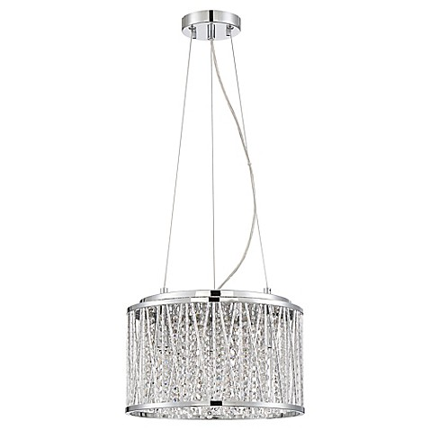 Buy Quoizel Platinum Collection Crystal Cove 4 Light Flush Mount In Chrome From Bed Bath Beyond