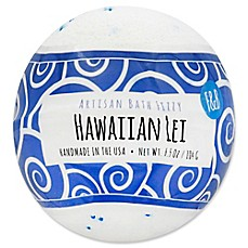 image of Fizz and Bubble 6.5 oz. Artisan Bath Fizzy in Hawaiian Lei