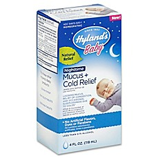 image of Hyland's® 4 oz. Baby Nighttime Mucus + Cold Relief