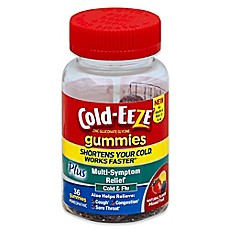 image of Cold-Eeze® 36-Count Cold and Flu Multi-Symptom Relief Gummies