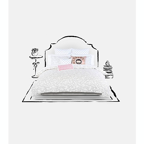 kate spade new york Literary Glasses Comforter Set