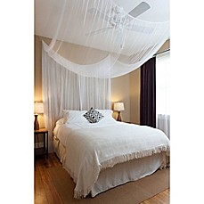 image of Cirrus 4-Poster Bed Canopy