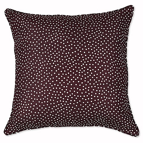 Rose Tree Decorative Pillows : Rose Tree Dots 18-Inch Square Throw Pillow - Bed Bath & Beyond
