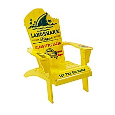 image of Margaritaville® Landshark Adirondack Chair in Yellow