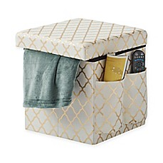 image of Sit & Store Folding Storage Ottoman