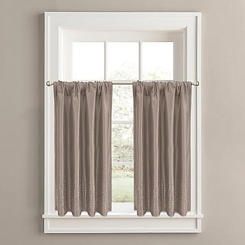 Twilight Window Curtain Tier Pair Bed Bath Amp Beyond