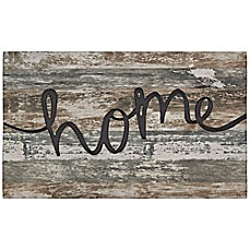 image of mohawk crumb rubber 18inch x 30inch farmhouse home welcome mat