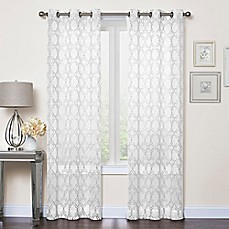 Window Curtains Drapes Grommet Rod Pocket More Styles Bed - Picture window curtains