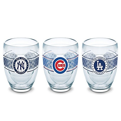 Tervis mlb select 9 oz stemless wine glass collection bed bath beyond - Insulated stemless wine glasses ...