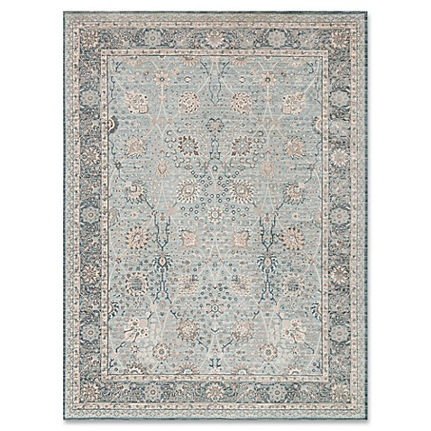 image of magnolia home by joanna gaines ella rose rug in light bluedark blue