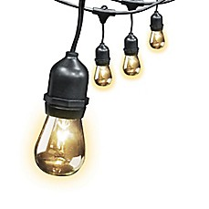 image of 30-Foot 10-Light Outdoor String Light Set