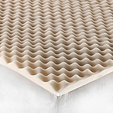 image of twintwin xl convoluted foam mattress topper