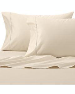 Set de sábanas king de algodón Wamsutta®, de 625 hilos color blanco lienzo