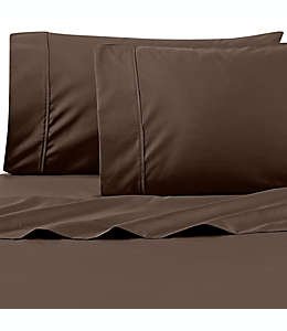 Set de sábanas king de PimaCott® Wamsutta®, de 625 hilos en chocolate