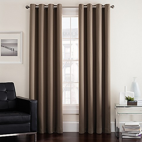 bed bath and beyond curtains for living room buy twilight 63 inch room darkening grommet top window 28130