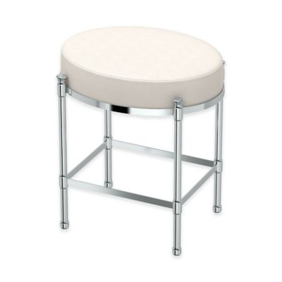 bathroom vanity elegant chair image nicole cover wheel stool on of