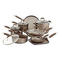 image of Anolon® Advanced Umber 14-Piece Cookware Set