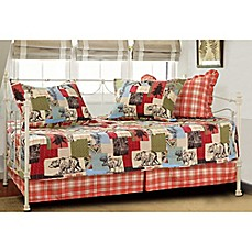 image of Rustic Lodge Daybed Quilt Set
