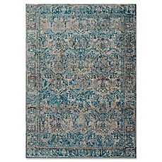 image of Magnolia Home By Joanna Gaines Kivi Rug in Fog/Mediterranean