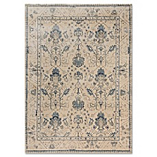 image of Magnolia Home By Joanna Gaines Kivi Rug in Ivory/Slate