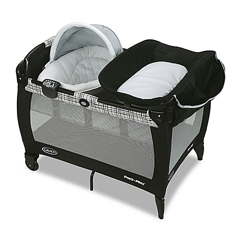 Gracou0026reg; Pack u0026#39;n Playu0026reg; Newborn Napper and Bassinet with Soothe  sc 1 st  buybuy BABY & Graco® Pack u0027n Play® Newborn Napper and Bassinet with Soothe ...