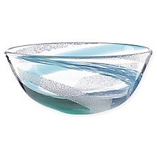image of Lenox® Seaview Bubble Swirl Crystal 9-Inch Bowl