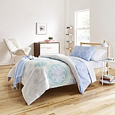 image of Brianne Cool 7-9 Piece Comforter Set in Blue/Green
