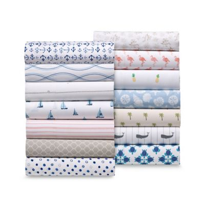 Coastal Life 300 Thread Count Sheet Set