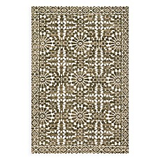 image of Magnolia Home by Joanna Gaines Lotus Rug in Ivory/Olive