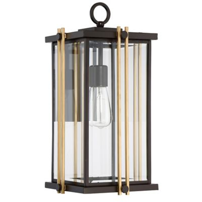 image of Quoizel Goldenrod Large Wall Lantern in Bronze