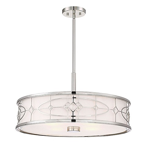filament design charlotte 4 light pendant ceiling fixture in polished