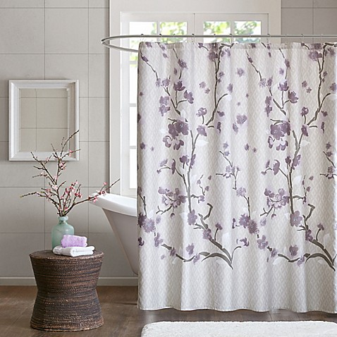 Madison park holly 72 inch shower curtain bed bath beyond - Bathroom items that start with l ...